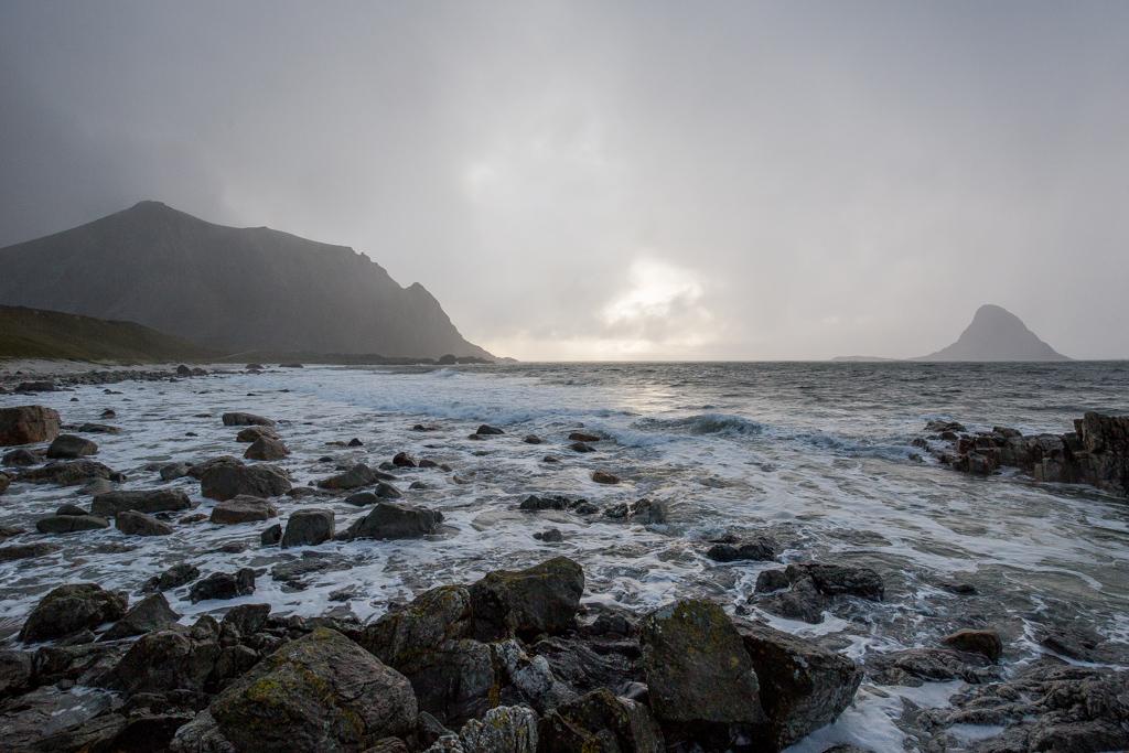 ... misty shore ...